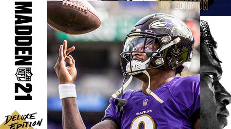 madden  cover featuring lamar jackson revealed