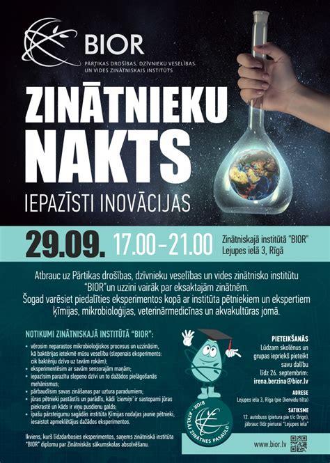 Zinātnieku nakts - Jelgavas Valsts ģimnāzija
