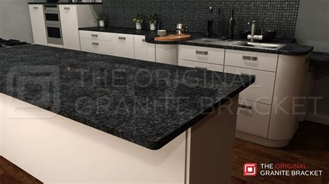 countertop supports kitchen island countertop support bracket protect your
