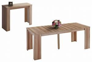 Table Console Extensible Bois : table console extensible pour un gain de place maximal ~ Teatrodelosmanantiales.com Idées de Décoration