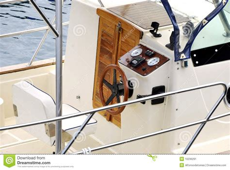 What Is The Helm Of A Boat by Helm Of A Boat Stock Image Image 10236291