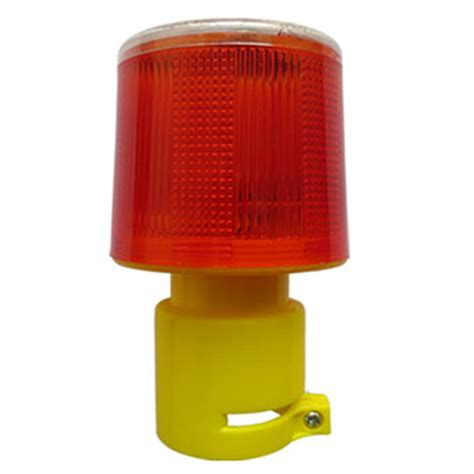 solar powered traffic light safety signal beacon alarm