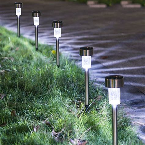 Solar Lights For Walkway by Solar Lights Outdoor 16pack Solar Powered Pathway Light
