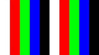 Monitor Color Test Pattern