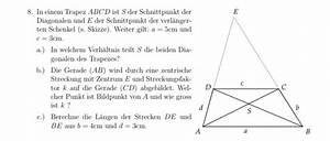 Gewinnschwelle Berechnen : streckung aufgabe mit strahlens tzen und streckung diagonalen im trapez mathelounge ~ Themetempest.com Abrechnung