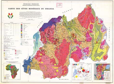 bureau de change 15 carte minère du rwanda provinces minérales des pays des