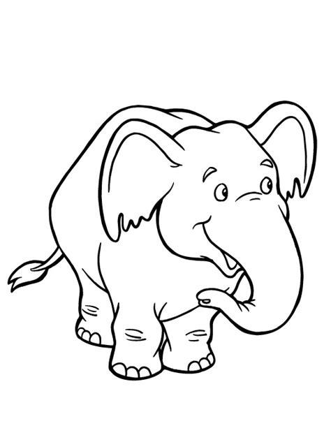 elefante da colorare imagui