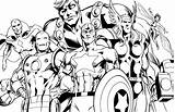 Coloring Pages Superheroes sketch template