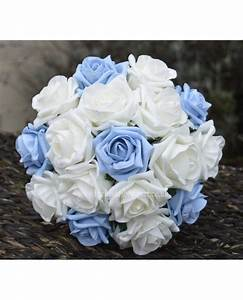 Light Blue Rose Bridesmaid Bouquet - small bridal posy ...