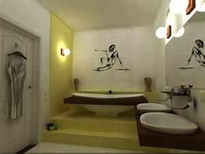 15 unique bathroom wall decor ideas ultimate home ideas for Modern wall decor for bathroom