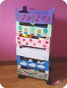 Recyclage Petite Cagette : les 10 meilleures images du tableau cageot cagette sur pinterest cagette caisses en bois et ~ Nature-et-papiers.com Idées de Décoration