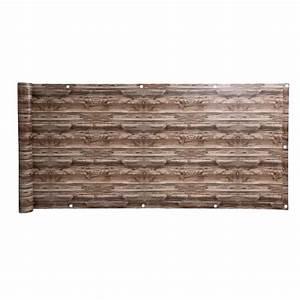Balkon Sichtschutz Holz : balkon sichtschutz balkonverkleidung 90 x 600 cm ~ Watch28wear.com Haus und Dekorationen