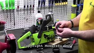 Mowers4u  Poulan Chainsaw Oil Pump Replacement