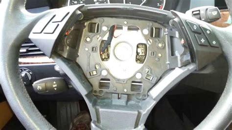 bmw  series     steering wheel airbag