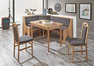 Coin Repas D Angle : coin repas avec banquette d 39 angle rosenheim anthracite sb meubles discount ~ Teatrodelosmanantiales.com Idées de Décoration