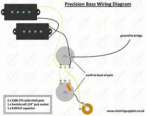 Image Of Precision Bass U00ae Wiring Kit