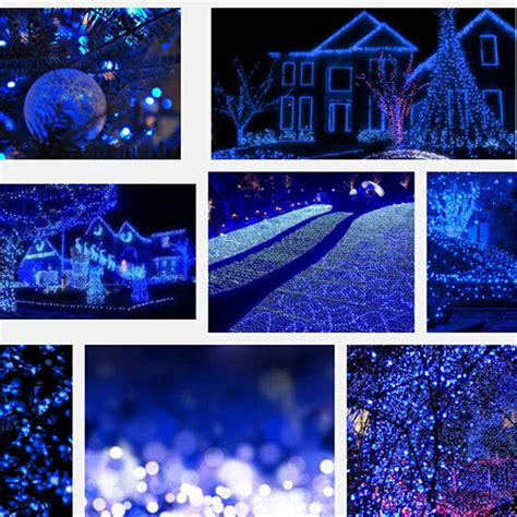 new 25 twinkling ice ball christmas led lights holiday outdoor twinkle decor ebay