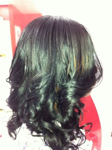 Layered Sew In Weave Hairstyles by Layered Sew In Weaves Razor Cuts Threadz Weave Salon