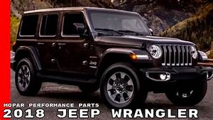 2018 Jeep Wrangler Mopar Performance Parts And Accessories
