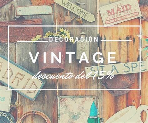 complementos vintage de decoracion  tu hogar