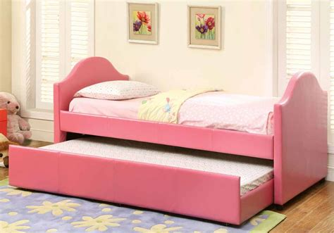 Cresson Contemporary Leatherette Platform Daybed Kids