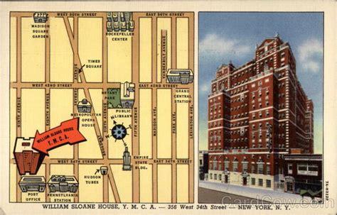 william sloane house ymca  york ny maps