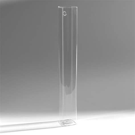 memo cuisine original vase rectangulaire mural à suspendre en verre abby 45cm