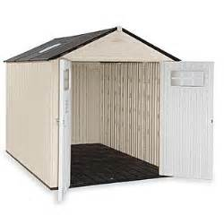 resin outdoor shed sore it right with sears