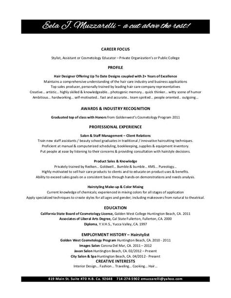 Resume Sle by Sle Questions For Makeup Artist Mugeek Vidalondon