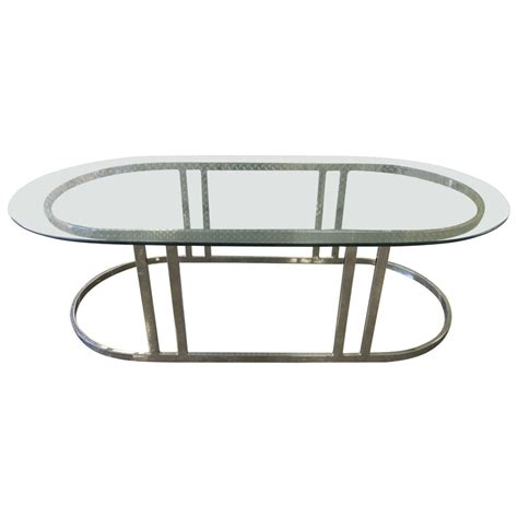 Glass coffee table contemporary living room home furniture high. Mid-Century Modern Oval Coffee Table at 1stdibs