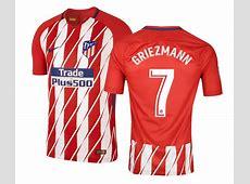 Maillot Match Atlético Madrid Griezmann Domicile 201718