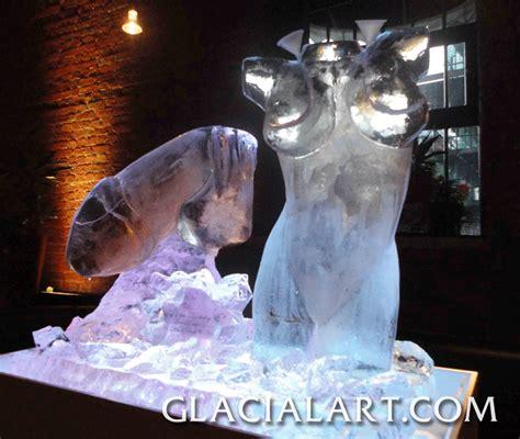 vodka luge glacial art