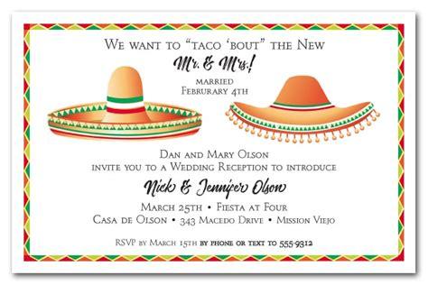 dos sombreros fiesta party invitations