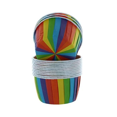 The pro14 rainbow cup has confirmed it will trial three new laws after they were approved by world rugby. 24 Rainbow Baking Cups - Donna's Cake Decorating Supplies