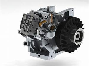 1 Cylinder 4 Stroke Engine  Briggs  U0026 Stratton