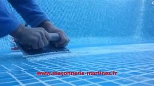 realisation de joints patte de verre avec starlike epoxy With refaire joints carrelage piscine