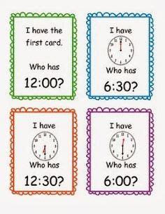 telling time images teaching math math
