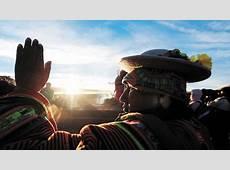 El Año Nuevo andino amazónico deja buenos augurios para el