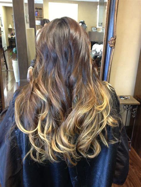 Ombré Long Brown Hair Hair And Beauty Pinterest