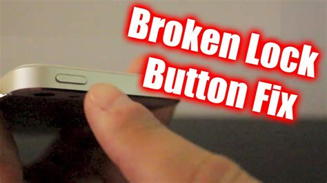 iphone lock button not working how to temporarily fix broken iphone lock button works