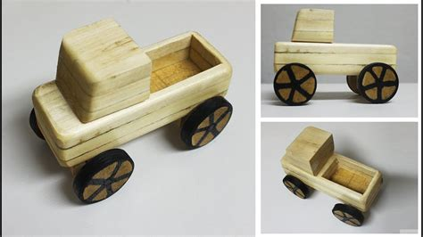 wooden toy truck diy wooden toys youtube