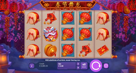 Dancing Dragon Spring Festival Slots Review  Online Slots
