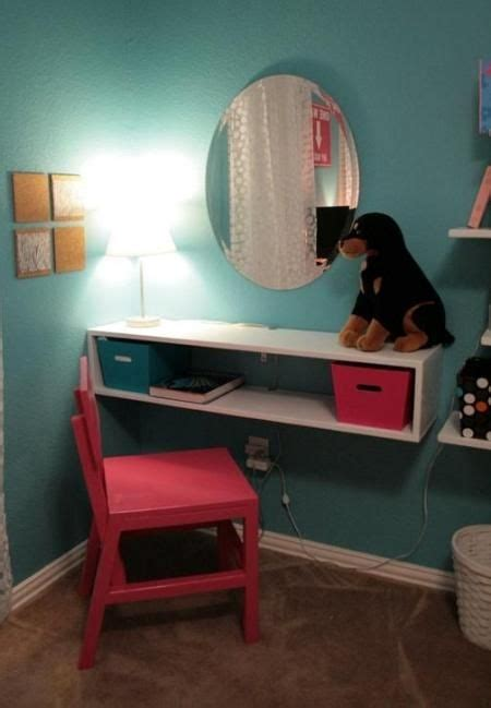 small desk area ideas instead of a vanity i was thinking this would be okay for