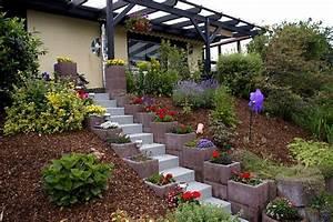 Tondeuse Pour Terrain En Pente : am nagement jardin en pente astuces pour apprivoiser le ~ Premium-room.com Idées de Décoration