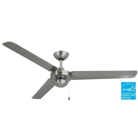 outdoor metal ceiling fans troposair tornado 56 in stainless steel indoor outdoor