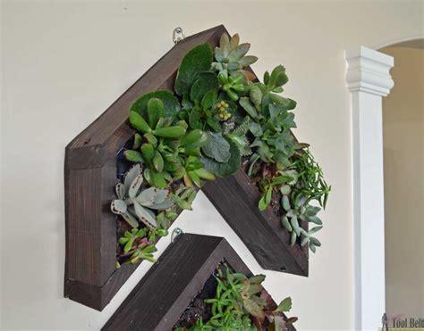 succulent wall planter arrow vertical succulent planter tool belt