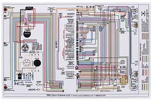 Wiring Diagram  1965 Corvair   All  Car  11x17  Color