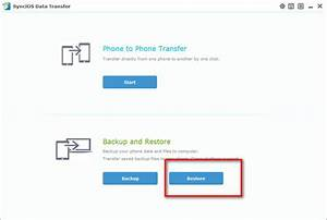 Free iPhone Restore Tool: how to restore iPhone from ...