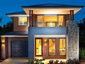 Decorative Large Modern Houses by 2 Story Simple Modern House Exterior Design 4 Home Decor