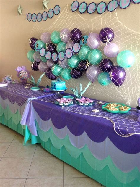 pin  jane dominguez  mia bday  mermaid parties
